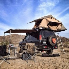 Range Rover Discovery Camping