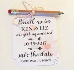 Check out our best invitation text messages collection on youtube pencil us in save the dates sample wedding invitations with pencil and envelope stopboris Choice Image