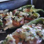 Super Bowl Appetizer - Sausage Poblano #superbowl #recipes #appetizers #texmex #gotexan