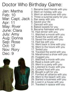 Captain Jack had tea with me. That must be very classy...