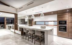 Giorgi - 72 The Avenue Nedlands Kitchen Room Design, Kitchen Cabinet Design, Modern Kitchen Design, Home Decor Kitchen, New Kitchen, Home Kitchens, Large Open Plan Kitchens, Rental Kitchen, Modern Kitchen Island