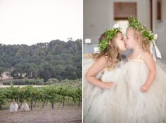 BrittRene Photo » lifestyle photographer sister love flower girls. rustic wedding.