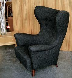 Danish Wingback Armchair | 20th Century Scandinavia