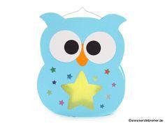 Eulen Laterne für den Schneideplotter ♥ von kerstinbremer.de. So awesome! Owl lantern ♥ #cutfile #svg #diy