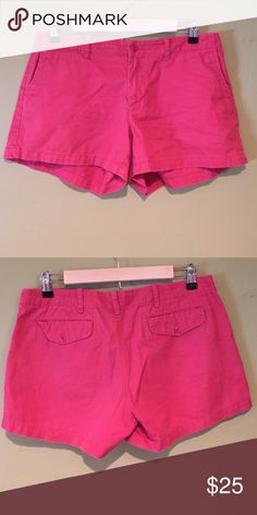 Nantucket Red Ralph Lauren Shorts Ralph Lauren Sport Shorts in Nantucket red. Worn a few times. Super cute shorts for the summer! Ralph Lauren Shorts
