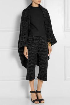 ValentinoZigzag wool-blend #cape #FW14