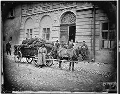 """ul. Św. Jana. Nieistniejące kamienice, na miejscu których stoi teraz """"Feniks"""". 1880 r. ct.mhk.pl"""