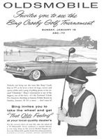 Olds Convertible Bing Crosby 1959 Ad Picture