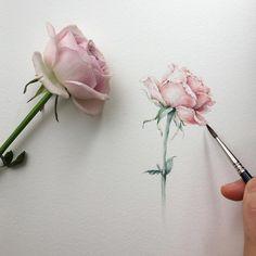 "8,938 Likes, 38 Comments - Watercolor illustrations (@watercolor.illustrations) on Instagram: "" Watercolorist: @viichae #waterblog #акварель #aquarelle #painting #drawing #art #artist #artwork…"""