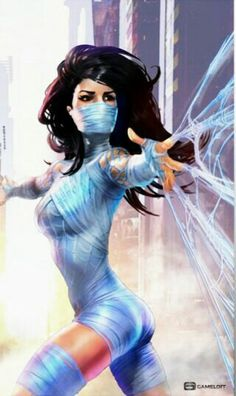 Silk - More at https://pinterest.com/supergirlsart/ #marvel #comics
