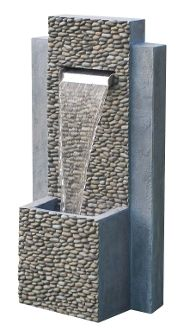 2 Tier Pebble Fountain #IndoorFountains