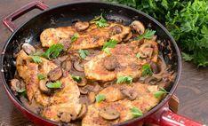 Κοτόπουλο Μαρσάλα. Ένα από τα πιο νόστιμα και πιο γρήγορα πιάτα που έχετε ποτέ δοκιμάσει. Το τέλειο πιάτο για να το φτιάξετε όταν θέλετε ένα γρήγορο και εύ