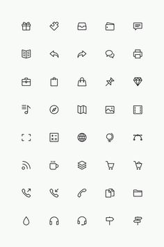 Free Simple Line Icons Set Vol.3