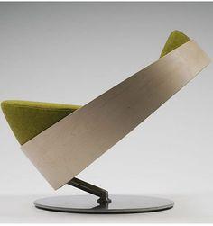 La silla de la Rana Rene.  Spinn chair by Halvor Eide.
