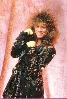 I remember this one! Either Teen Beat or Metal Edge. Jon Bon Jovi, Bon Jovi 80s, Dorothea Hurley, Bon Jovi Always, Emilio Estevez, Jersey Boys, Great Bands, Record Producer, Hard Rock