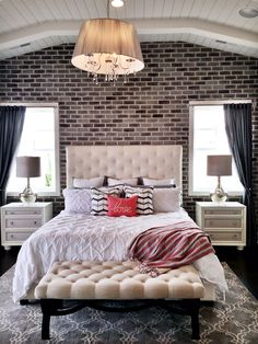 Exposed Brick. St George parade of homes