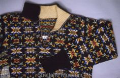 Fair Isle jumper from Shetland Museum Knitwear Collection.