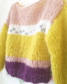 Chunky mohair pullover by Patkas Berlin