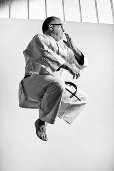 Portraits of Master Davide Rizzo black belt 5th dan