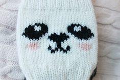 knitting banda Knitted Hats, Panda, Winter Hats, Beanie, Socks, Knitting, Fashion, Moda, Tricot