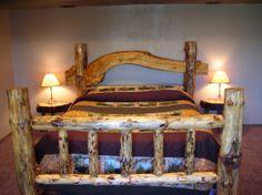 #HomeOwnerBuff Classic log bed