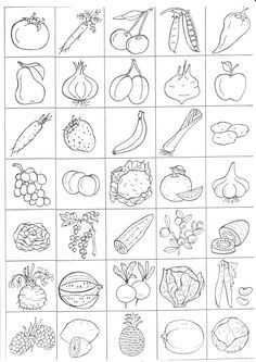 Coloring Worksheets Fruits Vegetables Beautiful Pin by andrea Shaw On Prvouka – Coloring Pages Gallery Learning English For Kids, English Worksheets For Kids, English Lessons For Kids, Vegetable Coloring Pages, Fruit Coloring Pages, Coloring Books, Apple Coloring, Coloring Worksheets For Kindergarten, Kindergarten Colors