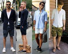 Yaz ayında en fazla tercih edilen şort ile hangi ayakkabı tarzını kombin yapmanız gerektiğini biliyor musunuz? Erkek şort ayakkabı kombinleri ile yaz ayının en çekici erkeği olabilirsiniz. Erkek şort ayakkabı giyim rehberi yazımızı okuyun!