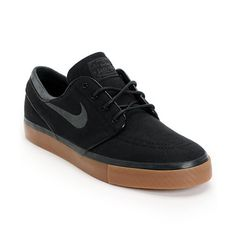 333ecf5e18 Nike SB Zoom Stefan Janoski Black, Anthracite, & Gum Canvas Shoe Zapatos  Vans,