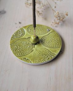 Your place to buy and sell all things handmade Diy Incense Holder, Ceramic Incense Holder, Diy Clay, Clay Crafts, Ceramic Clay, Ceramic Pottery, Pottery Techniques, Ceramics Projects, Pottery Designs