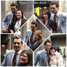Image result for David gandy pictures with fans