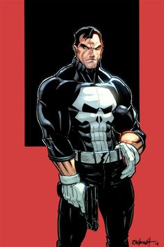 Punisher Colors by RayAnthonyHeight.deviantart.com #art #comics #punisher