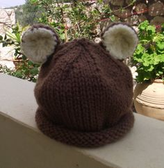 Tiny Baby Beanie Hat   Baby Bear by Quintessentialcraftz on Etsy, €12.00