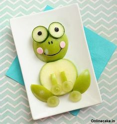 Sweet ideas for breakfast, lunch and snacks - Healthy Food Art Healthy Bedtime Snacks, Healthy School Snacks, Healthy Afternoon Snacks, After School Snacks, Healthy Kids, Easy Food Art, Food Art For Kids, Fruit Snacks, Easy Snacks