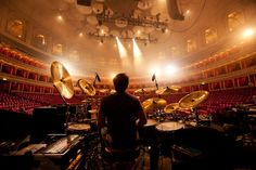 Gavin Harrison by Lasse Hoile at the Royal Albert Hall - Porcupine Tree