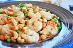 Stir-fried Shrimp With Cashew Nuts - Gourmet Persuasian