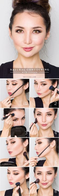 Tutorial: Natural Contouring with Powder: