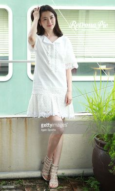 Han Hyo-Ju poses for photographs on August 10, 2015 in Seoul, South Korea.