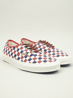 Vans Men's Checker Authentic CA Sneakers | oki-ni