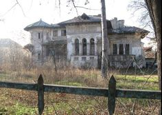 abandoned house in Romania