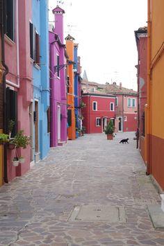 Burano Murano Lido Venise, Italie #venice