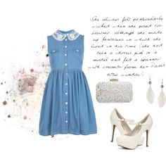 Lace.... by cloduhenois on Polyvore