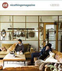 nice things 2月号「部屋と家具と私」 TRUCKとBirdが18ページにわたって特集されています。TRUCKでも掲載誌発売中ー! いい写真だー。 photo daisuke okabe #truckfurniture #nicethingsmagazine