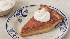 As the pie bakes, the filling separates into a silky, creamy custard base with a featherlight souffleed pumpkin layer on top.