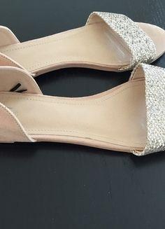 Kaufe meinen Artikel bei #Kleiderkreisel http://www.kleiderkreisel.de/damenschuhe/sandalen/135536433-wunderschone-hm-rosa-sandalen-mit-glitzer