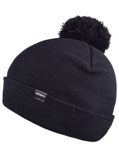 1d13542480d Winter Beanie with Cute Pom Pom for Men Women Soft Bobble Hat Knit Skull  Caps - Black - C31885SX7I7