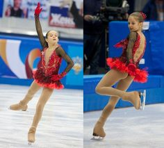 Alexandra Proklova skating her short program to Don Quixote at the 2014 Russian Nationals.