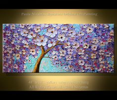 Original Modern Painting 48 x 24 Contemporary Palette by Artcoast, $400.00