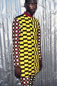 LAURENCEAIRLINE A/W 2013 MENSWEAR COLLECTION MADE IN ABIDJAN