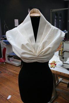 Pattern making and draping - Drapeado