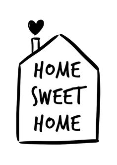 Ideas Home Sweet Hom Handlettering Home Quotes And Sayings, Family Quotes, Cute Quotes, Words Quotes, Quotes About Home, Going Home Quotes, Sweet Home Alabama, Decoration Entree, Vinyl Projects